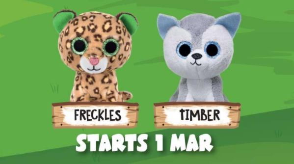 Free Ty Beanie Boo in every Happy Meal (McDonalds Malaysia) 0d3602c6fd1